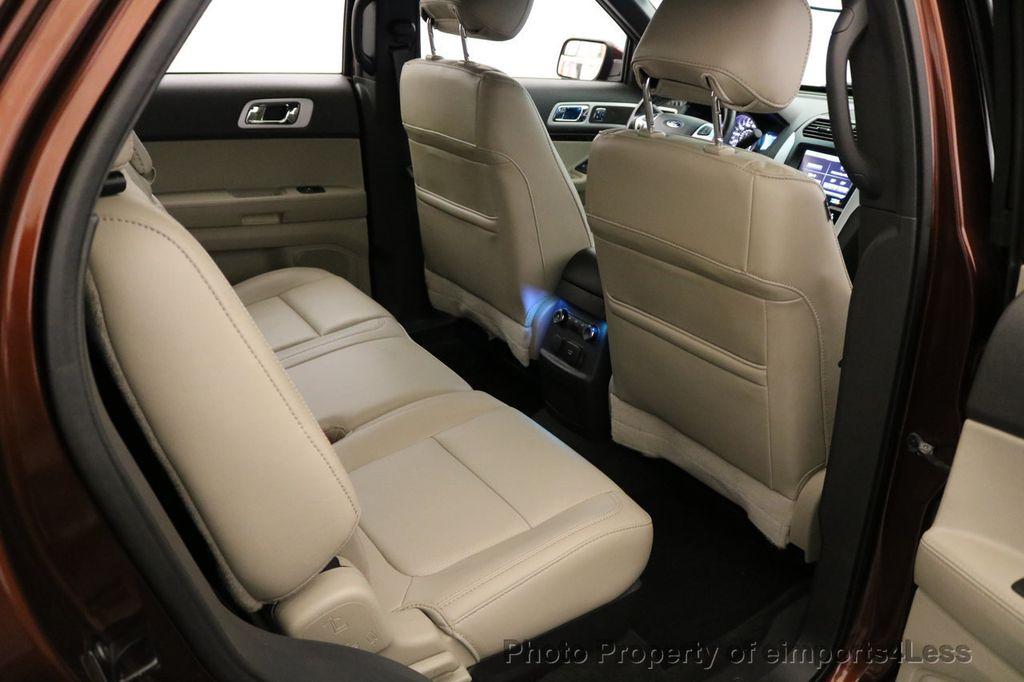 2015 Ford Explorer CERTIFIED EXPLORER 4WD LIMITED 7 PASSENGER PANO NAVI - 17784941 - 54
