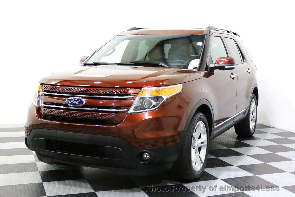 2015 Ford Explorer CERTIFIED EXPLORER 4WD LIMITED 7 PASSENGER PANO NAVI - 17784941 - 55