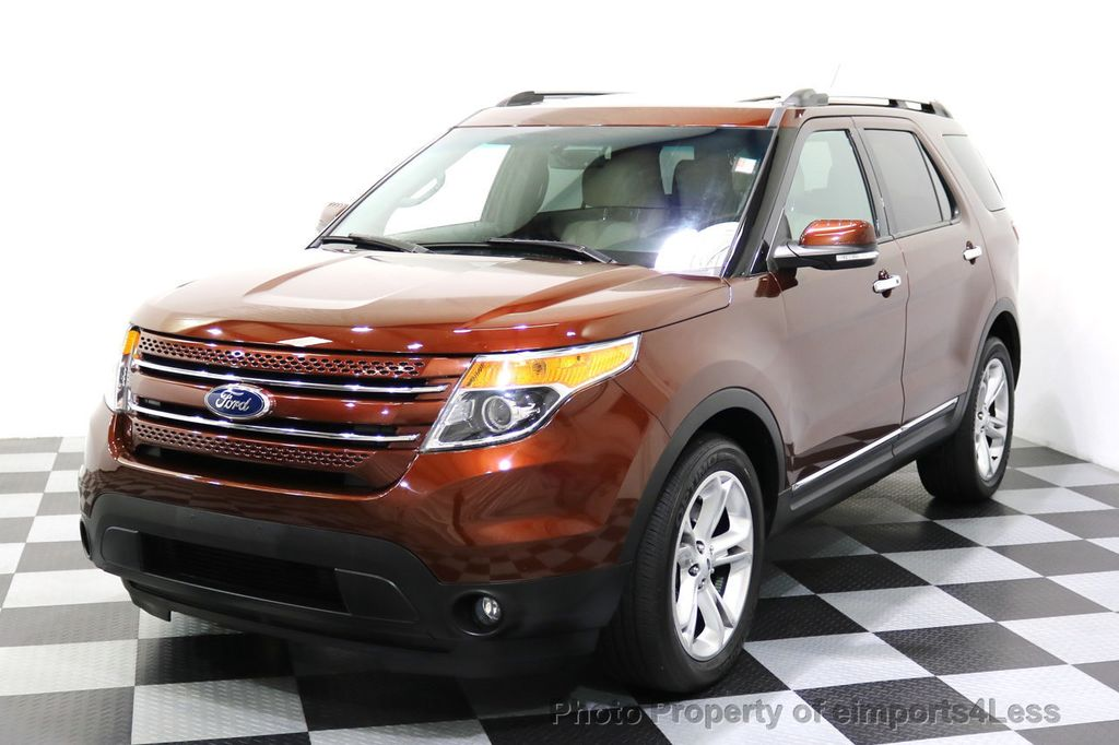 2015 Ford Explorer CERTIFIED EXPLORER 4WD LIMITED 7 PASSENGER PANO NAVI - 17784941 - 56