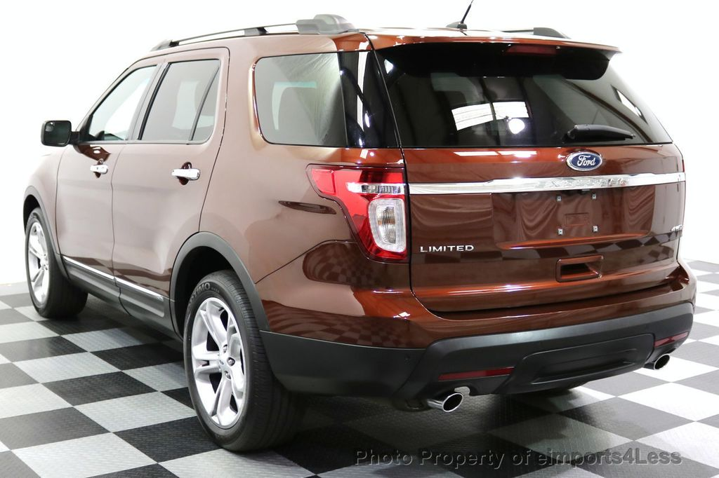 2015 Ford Explorer CERTIFIED EXPLORER 4WD LIMITED 7 PASSENGER PANO NAVI - 17784941 - 57