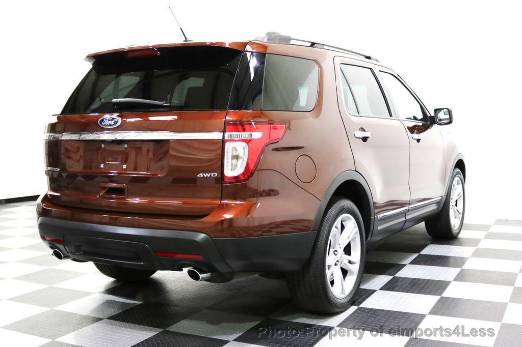 2015 Ford Explorer CERTIFIED EXPLORER 4WD LIMITED 7 PASSENGER PANO NAVI - 17784941 - 58