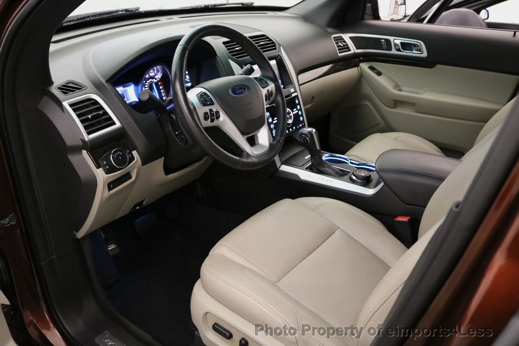 2015 Ford Explorer CERTIFIED EXPLORER 4WD LIMITED 7 PASSENGER PANO NAVI - 17784941 - 5