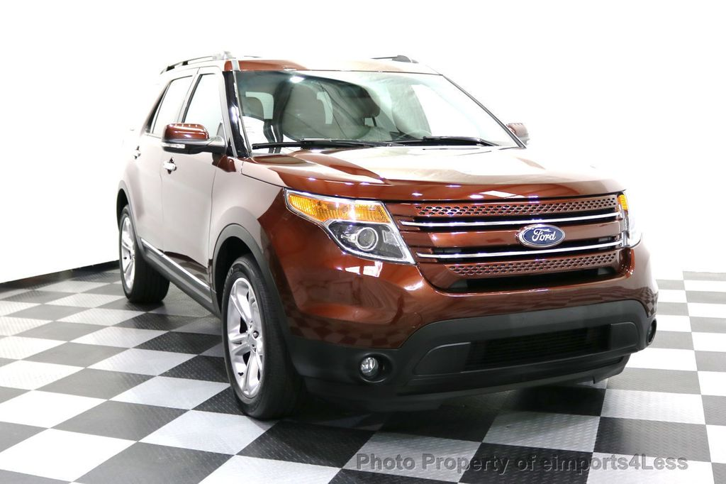 2015 Ford Explorer CERTIFIED EXPLORER 4WD LIMITED 7 PASSENGER PANO NAVI - 17784941 - 59