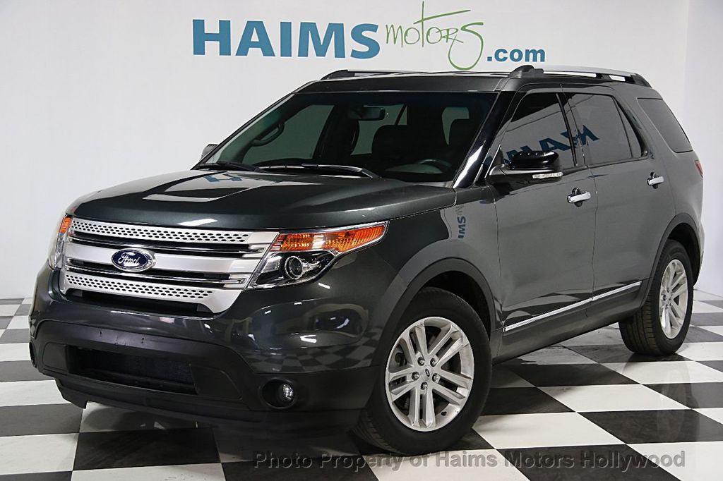 2015 used ford explorer fwd 4dr xlt at haims motors serving fort lauderdale hollywood miami. Black Bedroom Furniture Sets. Home Design Ideas