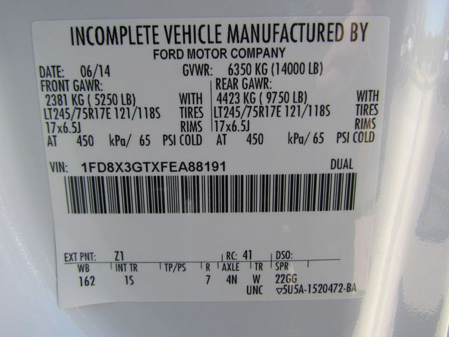 2015 Ford F350 Mechanics Service Truck 4x2 - 16062726 - 30