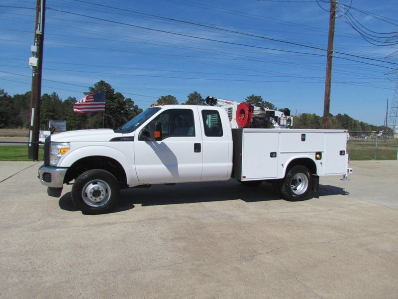 2015 Ford F350 Mechanics Service Truck 4x4 - 16714343 - 4