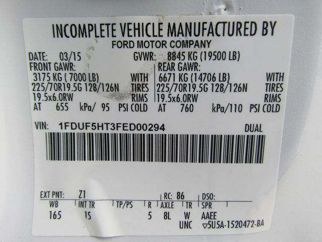 2015 Ford F550 Mechanics Service Truck 4x4 - 15118430 - 29