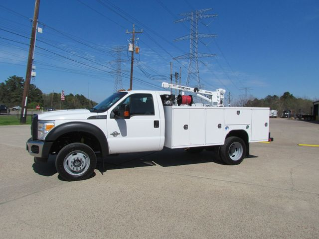 2015 Ford F550 Mechanics Service Truck 4x4 - 15118430 - 4