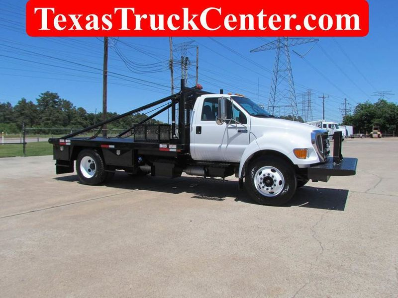 2015 Ford F650 Winch - Roustabout Truck - 17040118 - 0
