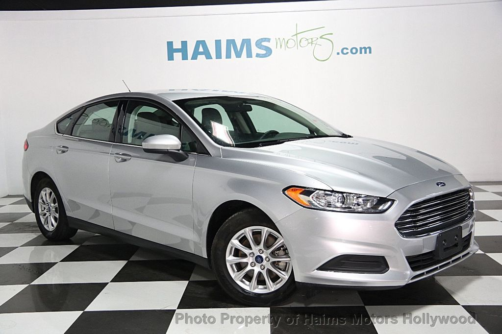 2015 used ford fusion 4dr sedan s fwd at haims motors serving fort lauderdale hollywood miami. Black Bedroom Furniture Sets. Home Design Ideas