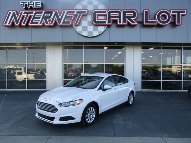 2015 Used Ford Fusion 4dr Sedan S FWD at The Internet Car Lot Serving  Omaha, NE, IID 19119863