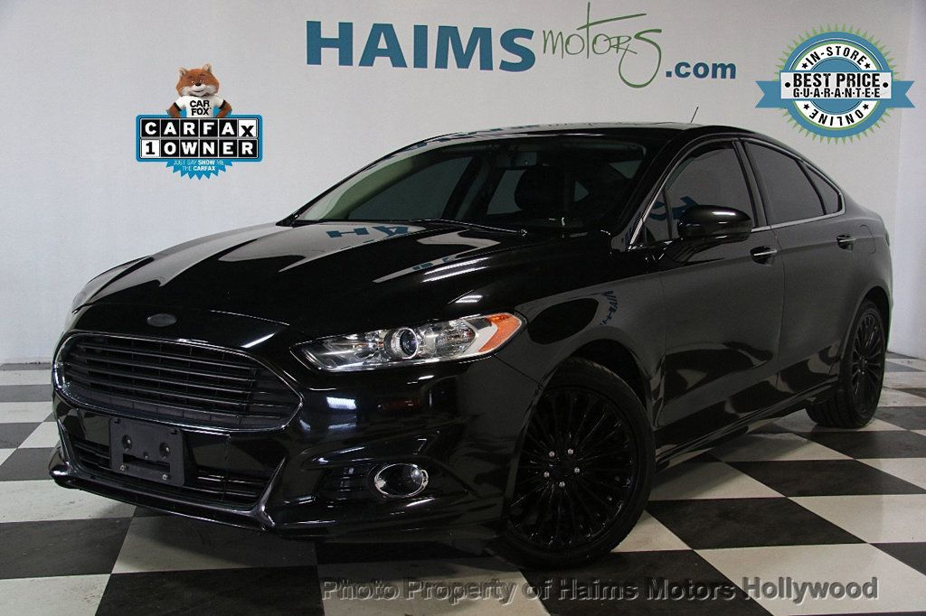 2015 used ford fusion 4dr sedan titanium awd at haims motors serving