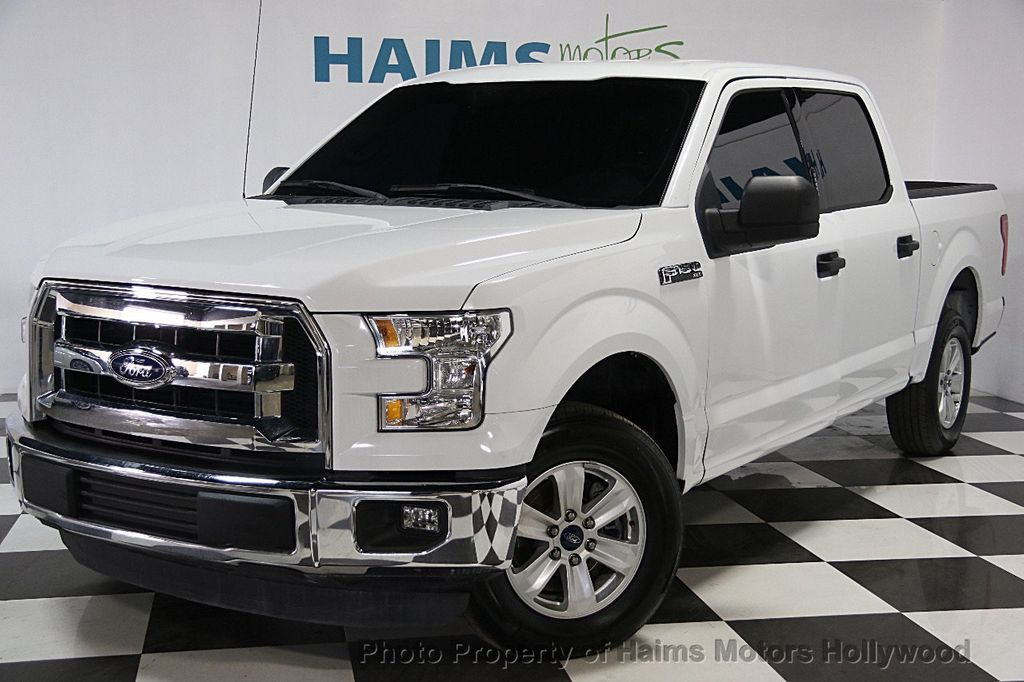 2015 Used Ford F 150 2wd Reg Cab 126 Quot Xlt At Haims Motors