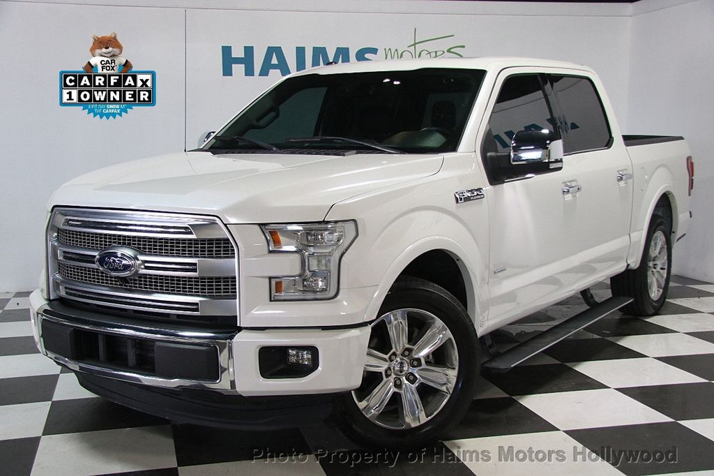 2015 used ford f 150 2wd supercrew 145 platinum at haims. Black Bedroom Furniture Sets. Home Design Ideas