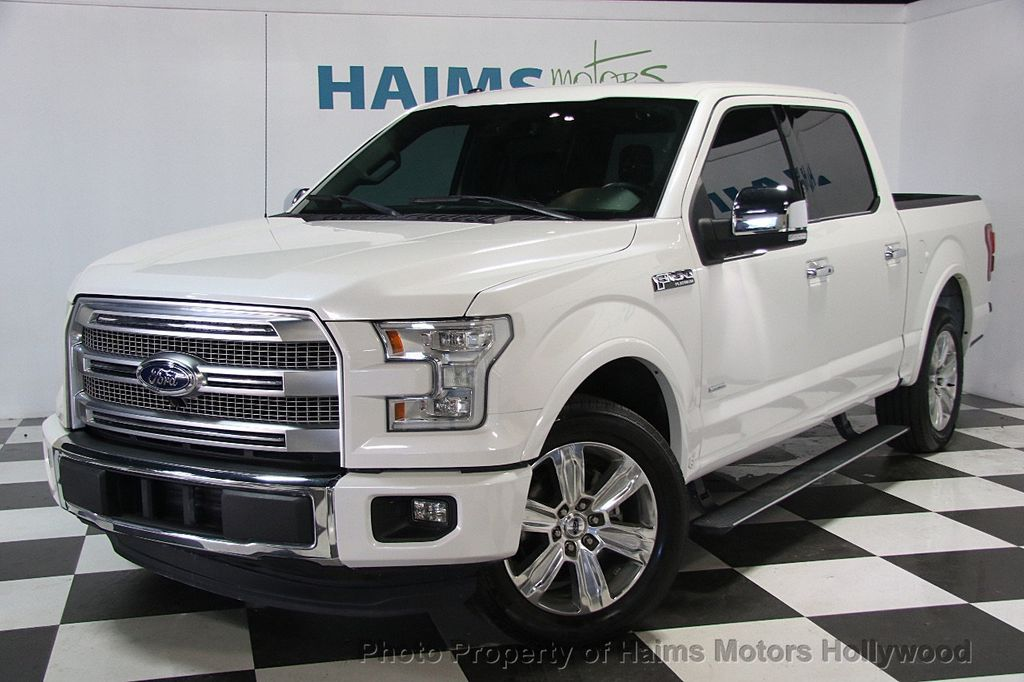 2015 used ford f 150 2wd supercrew 145 platinum at haims
