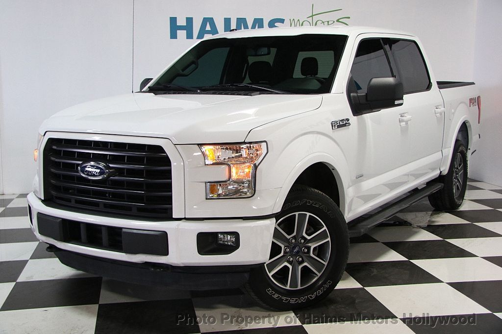 "2015 Ford F-150 4WD SuperCab 145"" XLT - 16543106 - 0"