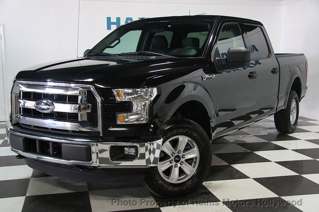 "Ford Dealership Fort Lauderdale >> 2015 Used Ford F-150 4WD SuperCab 145"" XLT at Haims Motors Serving Fort Lauderdale, Hollywood ..."