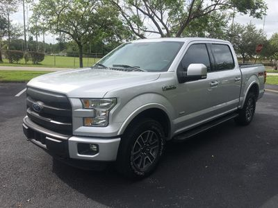 "2015 Ford F-150 4WD SuperCrew 145"" Lariat Truck"
