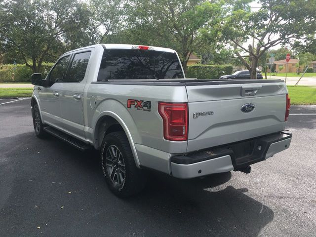 """2015 Ford F-150 4WD SuperCrew 145"""" Lariat - Click to see full-size photo viewer"""