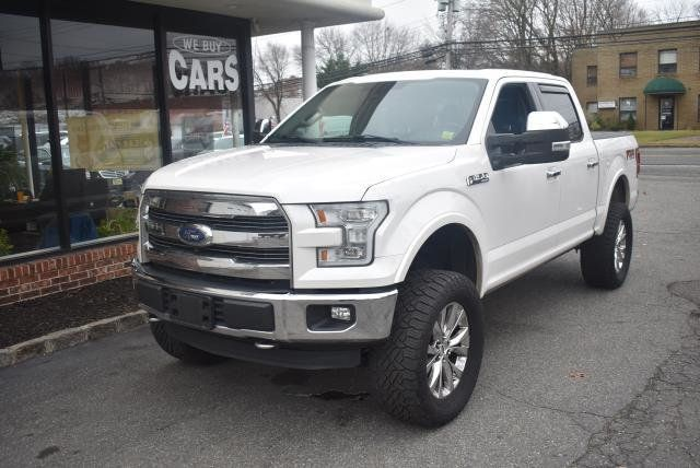 2015 Used Ford F 150 4wd Supercrew 145 Lariat At Webe Autos