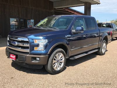"2015 Ford F-150 4WD SuperCrew 145"" Lariat - Click to see full-size photo viewer"