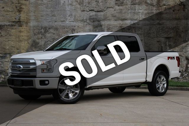 2015 Used Ford F 150 4wd Supercrew 145 Platinum At Belle Meade Auto Brokers Llc Serving Nashville Tn Iid 19128624