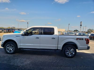 "2015 Ford F-150 4WD SuperCrew 157"" Lariat Truck"