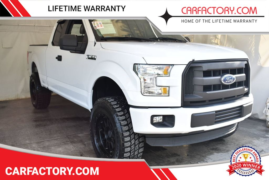 "2015 Ford F-150 5"" Rough Country Lift Kit with 20"" Custom Rims & Tires - 18056341 - 0"