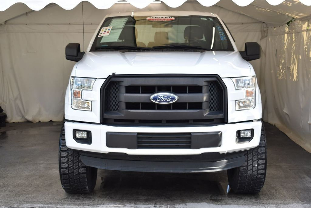 "2015 Ford F-150 5"" Rough Country Lift Kit with 20"" Custom Rims & Tires - 18056341 - 2"
