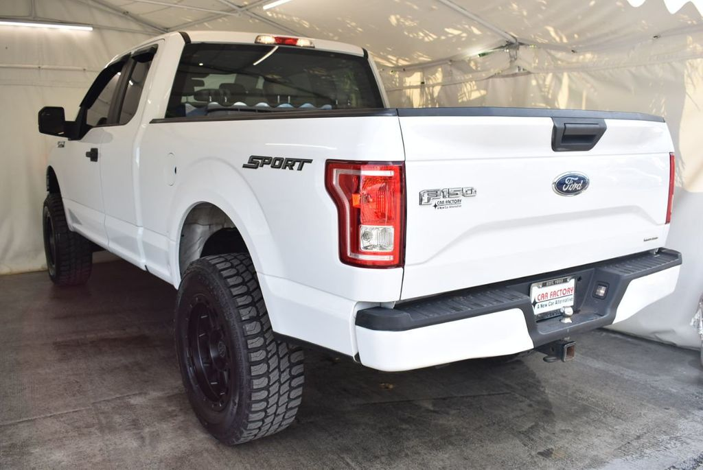 "2015 Ford F-150 5"" Rough Country Lift Kit with 20"" Custom Rims & Tires - 18056341 - 3"
