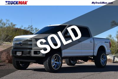 Lifted 2015 F150 >> 2015 Used Ford F 150 Lifted 2015 Ford Platinum 3 5 Eco Boost Fully Loaded At Truckmax Serving Pheonix Az Iid 19663142