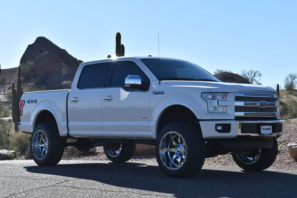 2015 F150 Lifted >> 2015 Used Ford F 150 Lifted 2015 Ford Platinum 3 5 Eco Boost Fully Loaded At Truckmax Serving Pheonix Az Iid 19663142