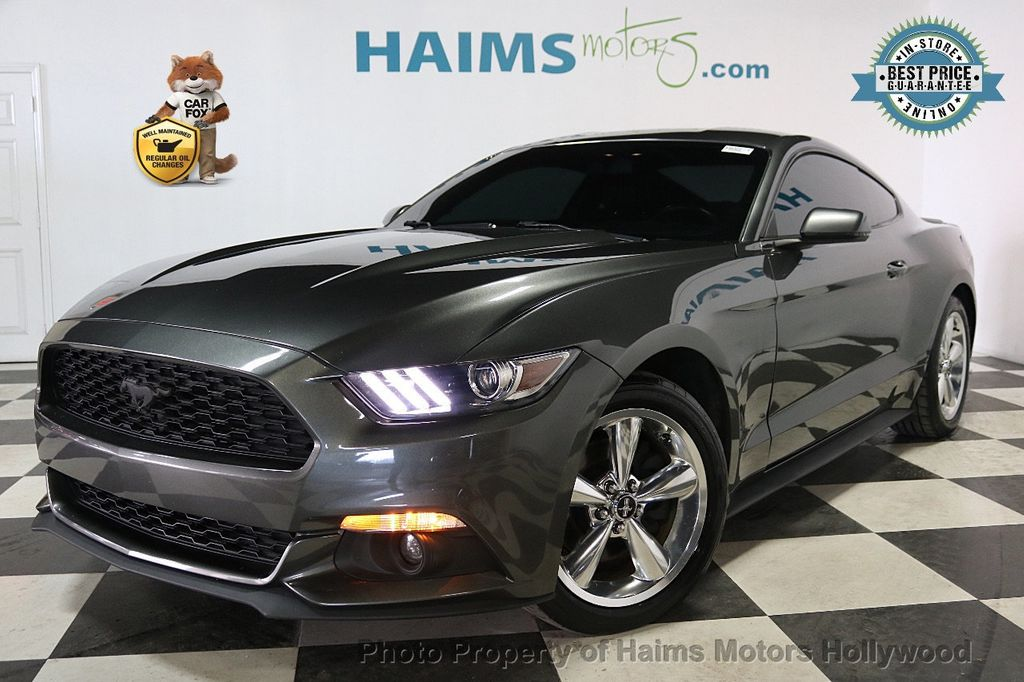 2015 Ford Mustang 2dr Fastback EcoBoost - 18164127 - 0