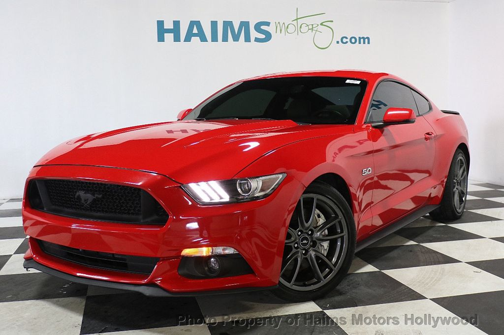 2015 Ford Mustang 2dr Fastback GT - 17837848 - 1