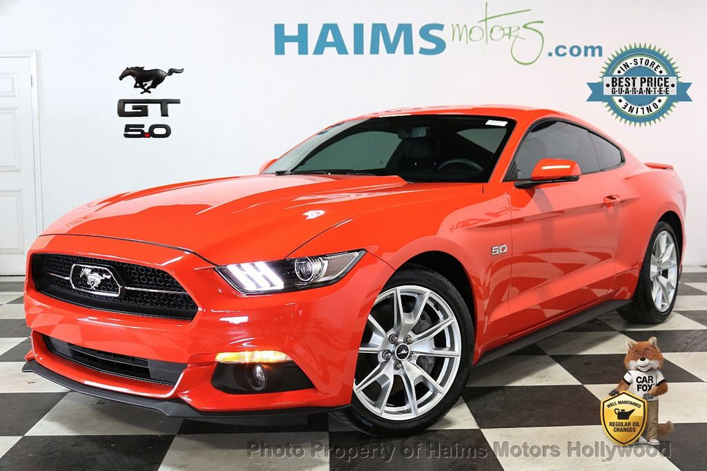 2015 Ford Mustang 2dr Fastback GT - 18459894 - 0