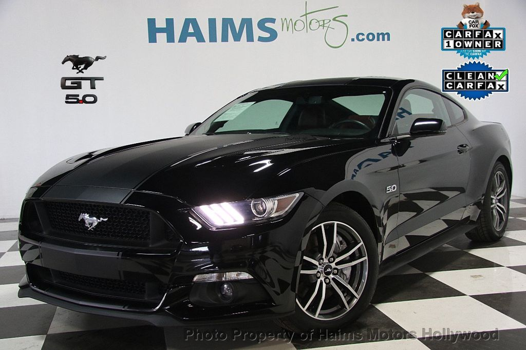 2015 Ford Mustang 2dr Fastback GT Premium - 16997592 - 0