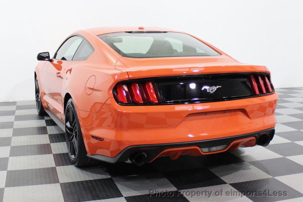 2015 Ford Mustang CERTIFIED MUSTANG PREMIUM 6 SPEED Performace Package CAM NAV - 18319515 - 16