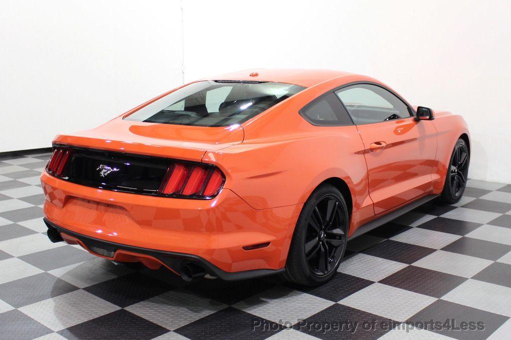 2015 Ford Mustang CERTIFIED MUSTANG PREMIUM 6 SPEED Performace Package CAM NAV - 18319515 - 18