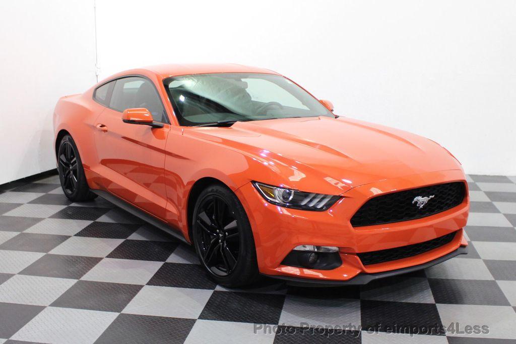 2015 Ford Mustang CERTIFIED MUSTANG PREMIUM 6 SPEED Performace Package CAM NAV - 18319515 - 1