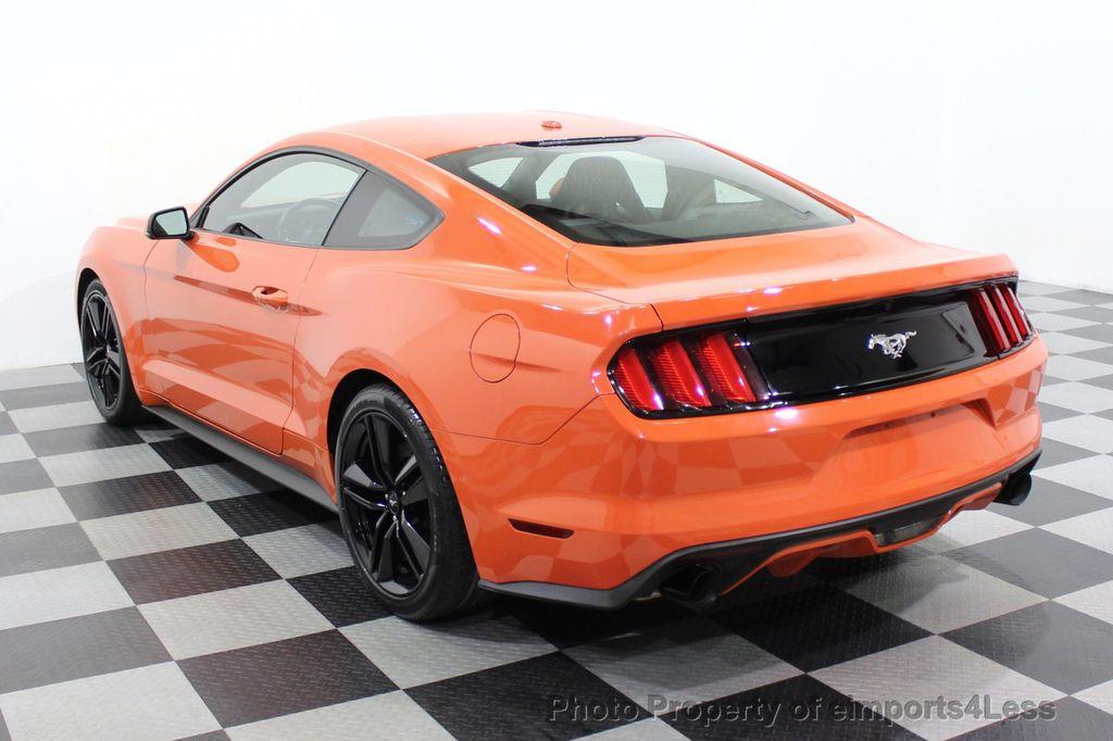 2015 Ford Mustang CERTIFIED MUSTANG PREMIUM 6 SPEED Performace Package CAM NAV - 18319515 - 2
