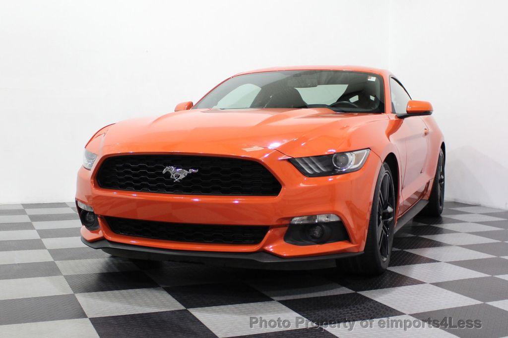 2015 Ford Mustang CERTIFIED MUSTANG PREMIUM 6 SPEED Performace Package CAM NAV - 18319515 - 29