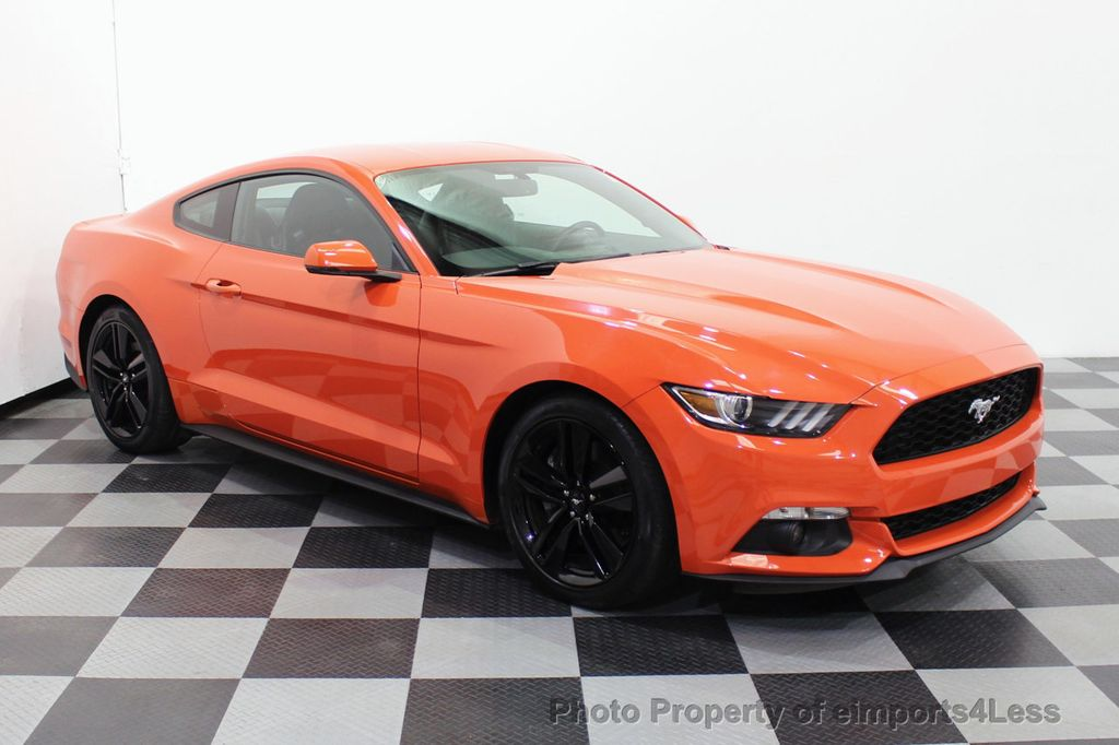 2015 Ford Mustang CERTIFIED MUSTANG PREMIUM 6 SPEED Performace Package CAM NAV - 18319515 - 30