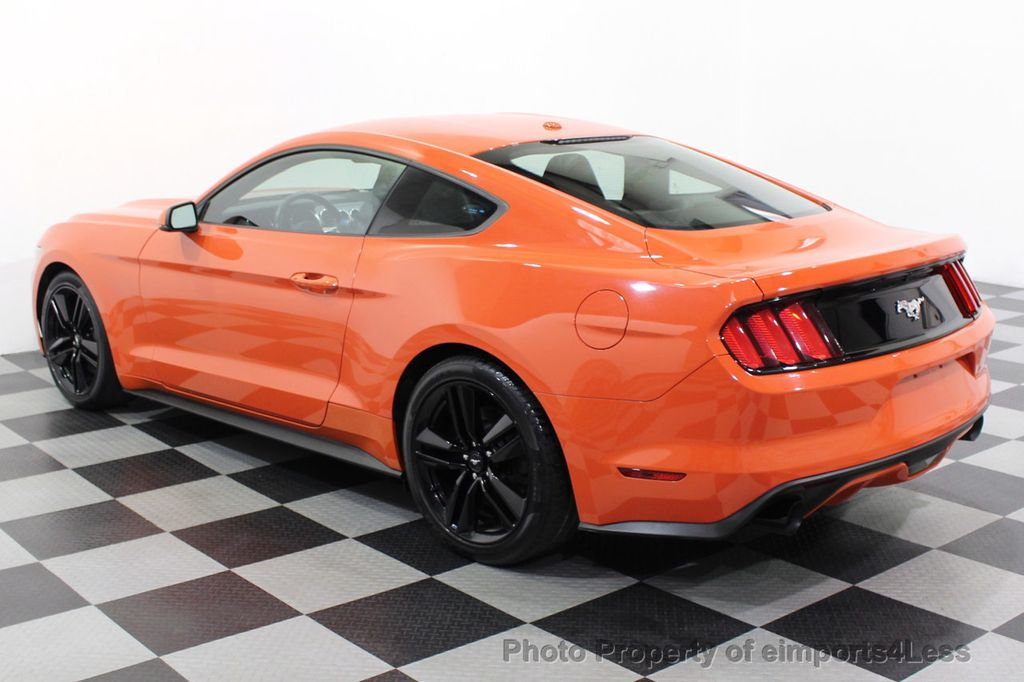 2015 Ford Mustang CERTIFIED MUSTANG PREMIUM 6 SPEED Performace Package CAM NAV - 18319515 - 31