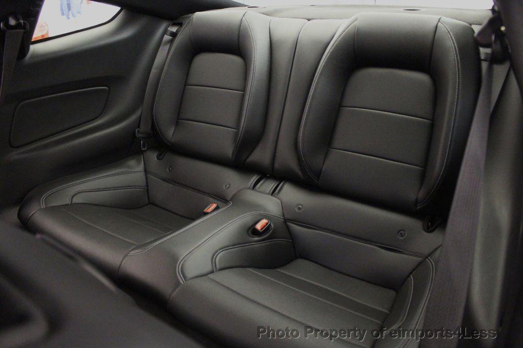 2015 Ford Mustang CERTIFIED MUSTANG PREMIUM 6 SPEED Performace Package CAM NAV - 18319515 - 37