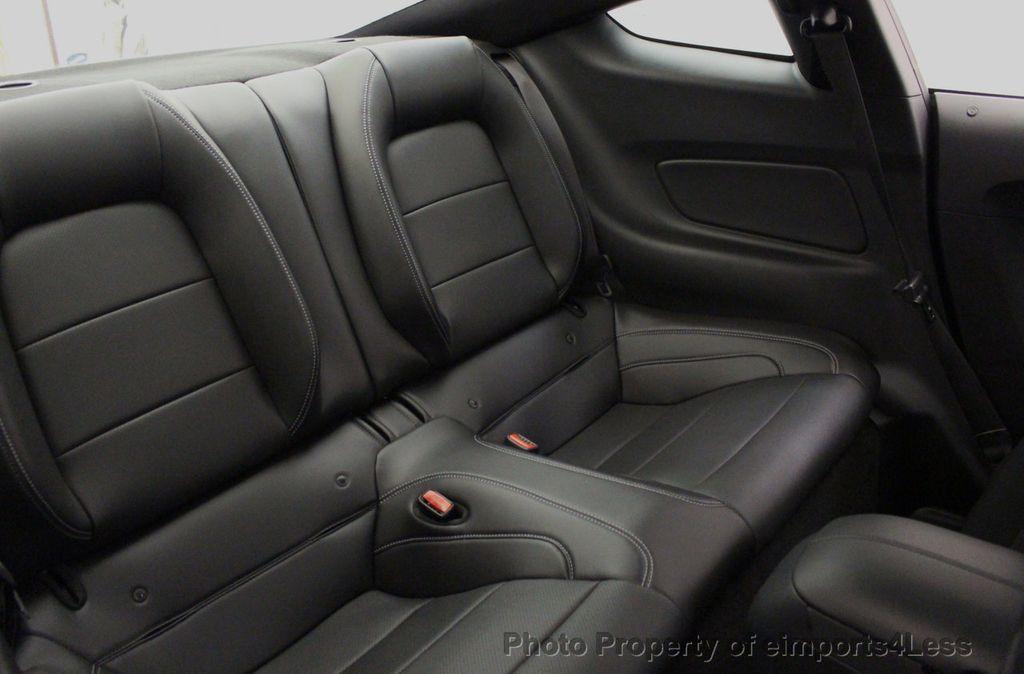 2015 Ford Mustang CERTIFIED MUSTANG PREMIUM 6 SPEED Performace Package CAM NAV - 18319515 - 38