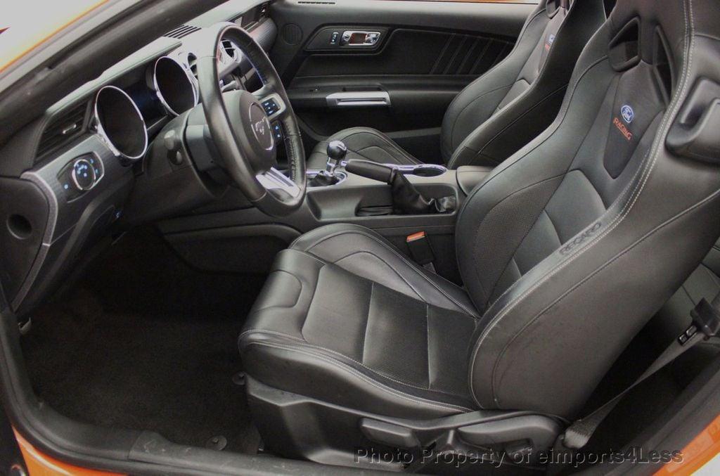 2015 Ford Mustang CERTIFIED MUSTANG PREMIUM 6 SPEED Performace Package CAM NAV - 18319515 - 39