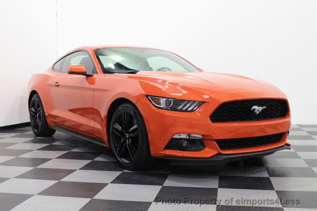 2015 Ford Mustang CERTIFIED MUSTANG PREMIUM 6 SPEED Performace Package CAM NAV - 18319515 - 46