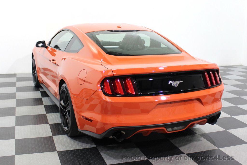 2015 Ford Mustang CERTIFIED MUSTANG PREMIUM 6 SPEED Performace Package CAM NAV - 18319515 - 47