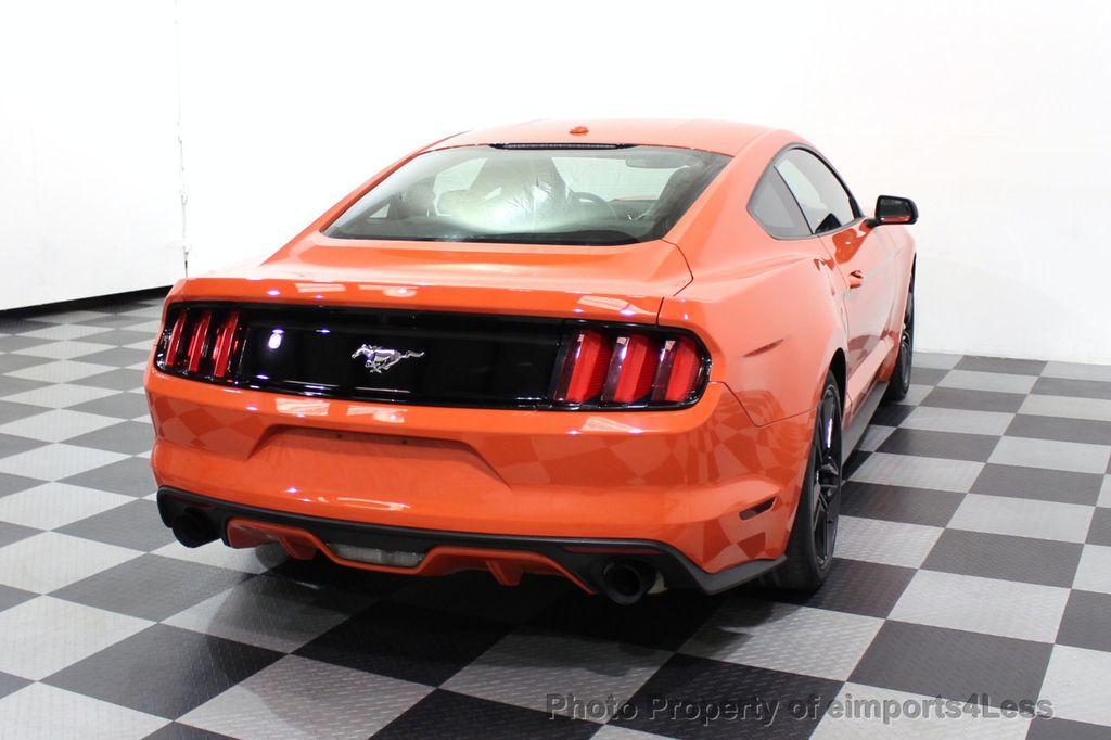 2015 Ford Mustang CERTIFIED MUSTANG PREMIUM 6 SPEED Performace Package CAM NAV - 18319515 - 48
