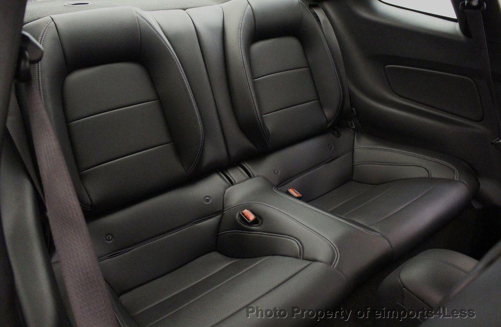 2015 Ford Mustang CERTIFIED MUSTANG PREMIUM 6 SPEED Performace Package CAM NAV - 18319515 - 8